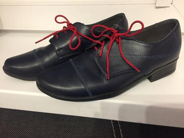 buty komunijne chłopięce r. 33