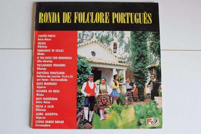 Disco de Vinil - Ronda de Folclore Português
