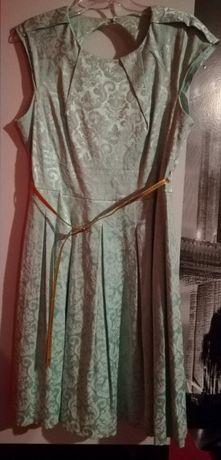Sukienka kolor miętowy