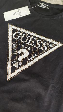 T-shirt Guess jakoś premium