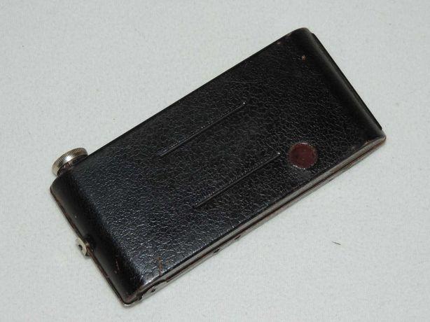Zabytkowy aparat fotograficzny angielski z lat 40-tych