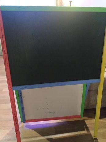 Деревянный мольберт, доска для рисования двухсторонняя