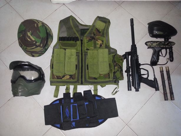 Material paintball