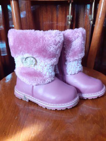 Чобітки зимові для дівчинки