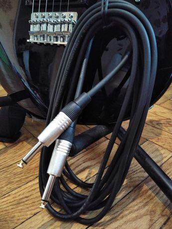 kabel do gitary elektrycznej 6 metrów nowy, przewód do gitary, gitara