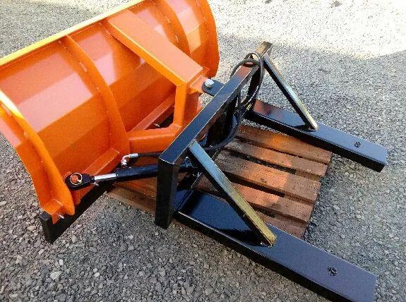 Pług do śniegu od-śnieżny euroramka TUZ wózek widłowy Ładowacz czołowy