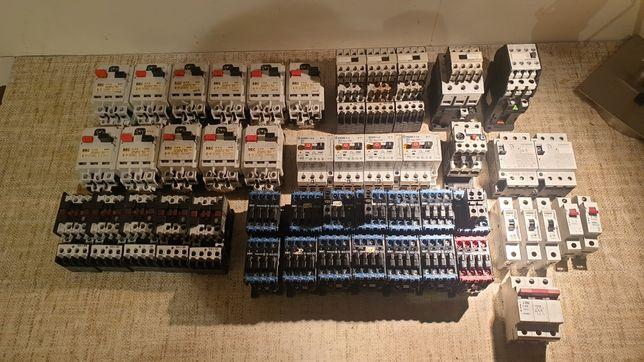 Styczniki włączniki tablicowe, sprawne, BBC, Moeller, Siemens, PKZM