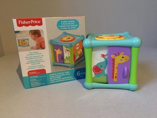 Zabawka edukacyjna, Interaktywna Kostka - Fisher Price