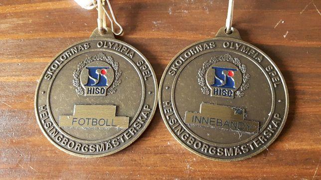 Medal hiso futbolu fotboll innebandy olimpijska spelen Olympia spel