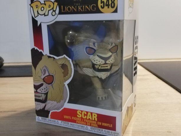 Król Lew (Lion King), Scar/Skaza - figurka Funko POP! Vinyl