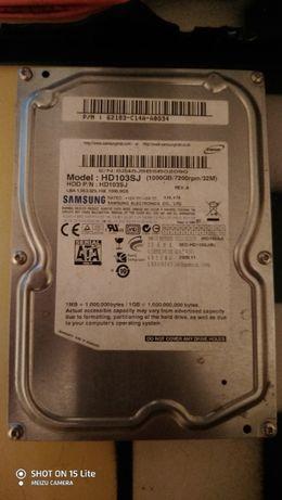Продам жестки диск SAMSUNG HD103SJ 1TB