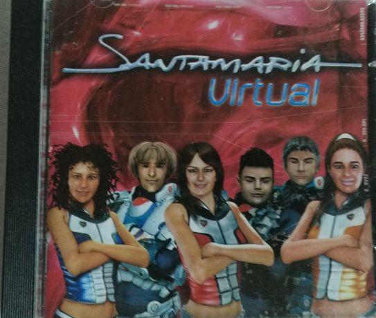 cd musica portuguesa Santamaria - Virtual