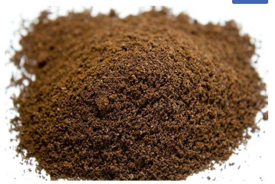 Borras de Café Usadas Limpas e Secas - Agricultura