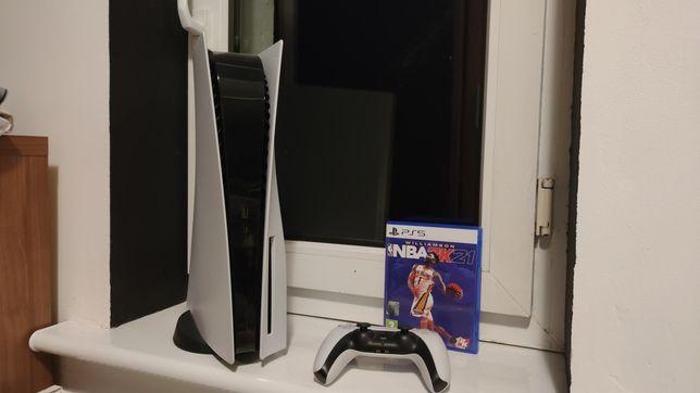 PS5/Playstation 5 z napędem + NBA 2K21