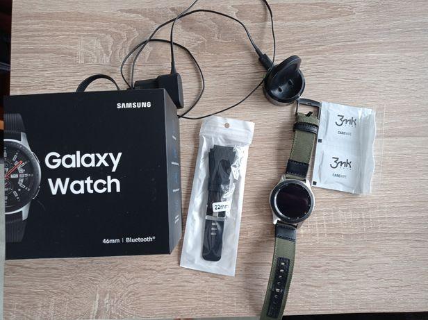 Samsung Galaxy Watch 46-gwarancja dodatkowy pasek szkło