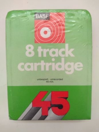 NOVOS Cartuchos Audio (8 Track Cartridge Tape) BASF HITACHI
