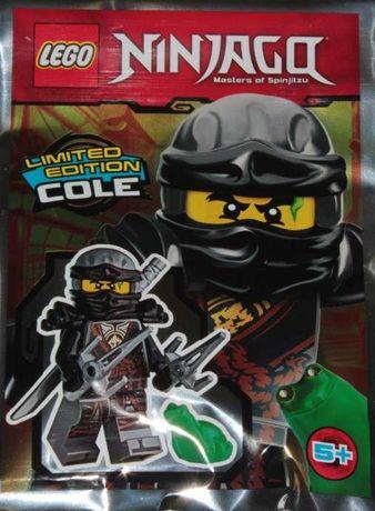 LEGO NINJAGO Figurka Cole + Broń + Żaba Limited Edition !