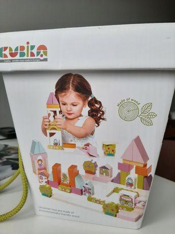 Конструктор cubika городок для девочек