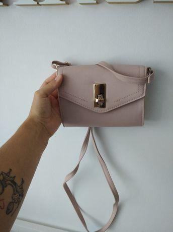 torebka mala pudrowy roz