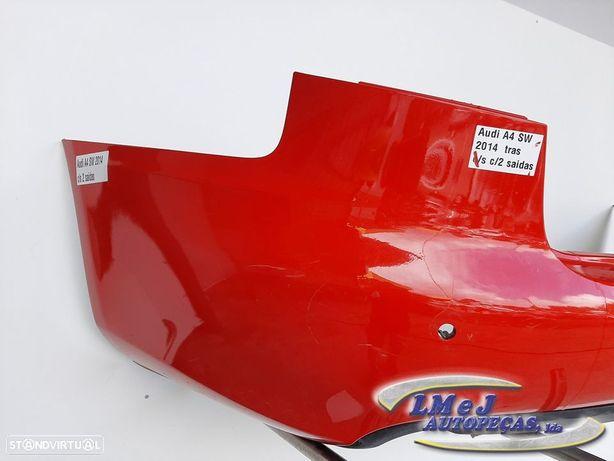 Parachoques Trás Vermelho Usado AUDI/A4 (8K B8) SW carrinha 01.08 - 03.12 REF....