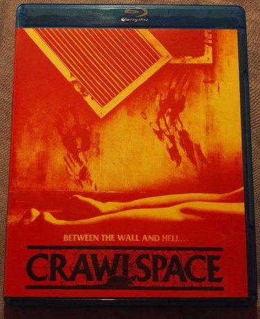 """""""CrawlSpace"""" / """"Krwawy nałóg"""" Blu-Ray SCREAM FACTORY USA reg. A bez PL"""