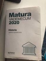 Matura Vademecum Z Historii zakres rozszerzony Operon