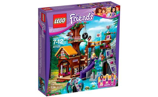 Лего, спортивный лагерь: дом на дереве