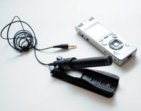 Направленный Микрофон Olympus ME34 для Диктофона или Записи Видео 3.5м