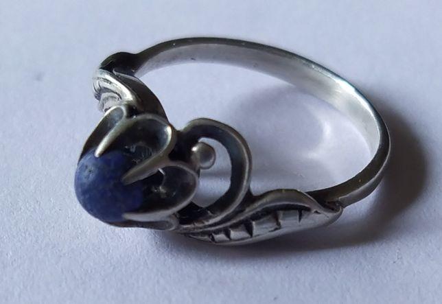 Кольцо СССР серебро 875