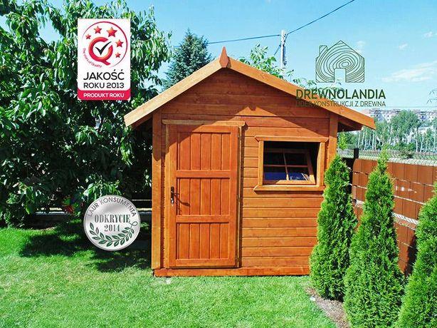 Altana na rod ogrodowa drewutnia domek narzędziowy