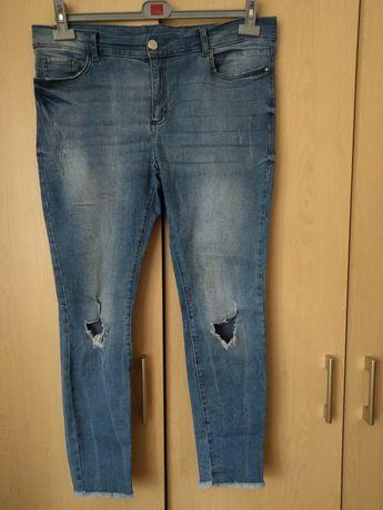 Damskie spodnie dżinsowe