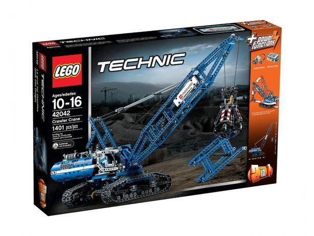 Lego Technic 42042 żuraw dźwig gąsienicowy