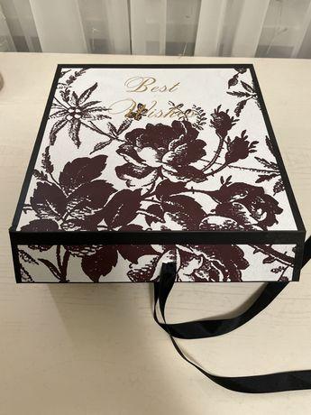 Новая Подарочная коробка 24х24х10