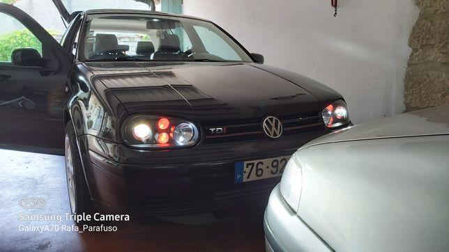 Óticas volkswagen Golf mk4 USA Style & Black Projector
