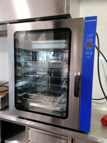 Forno convector 10 niveis gastronomia/pastelaria/pão NOVO