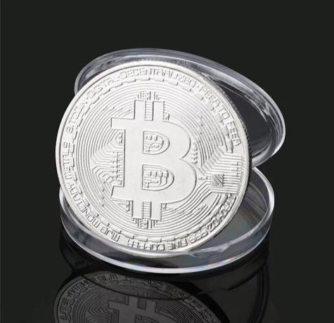 Биткоин сувенирная монета