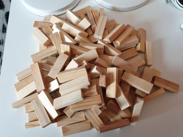 Klocki typu Jenga , Klocki Drewniane Duża ilość OKAZJA
