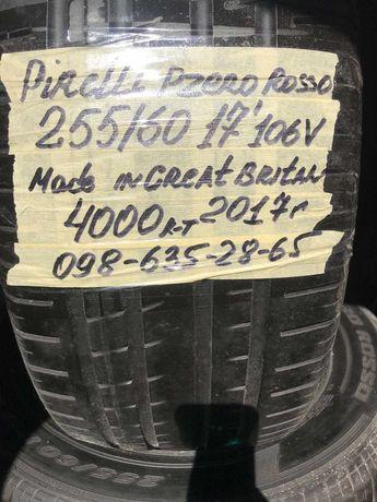 Шины Pirelli Pzero Rosso 255/60/17' 106v (Англия) резина шини