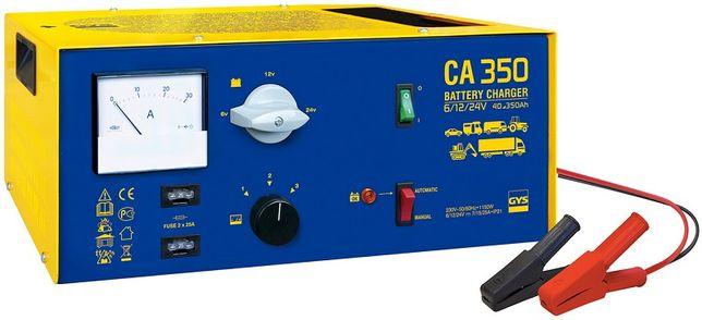 Мощное судовое зарядное устройство GYS CA 350 для 6В, 12В, 24В.