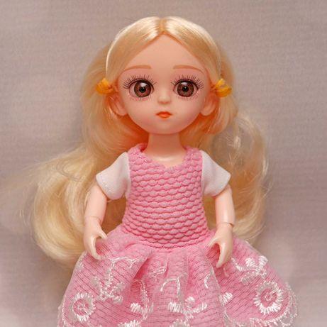 Laleczka lalka bjd 1/8 16cm ruchome stawy blond włosy 1