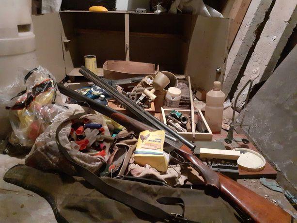 Продам ружье двуствольное охотничье  иж26 докумет обмен авто и участок