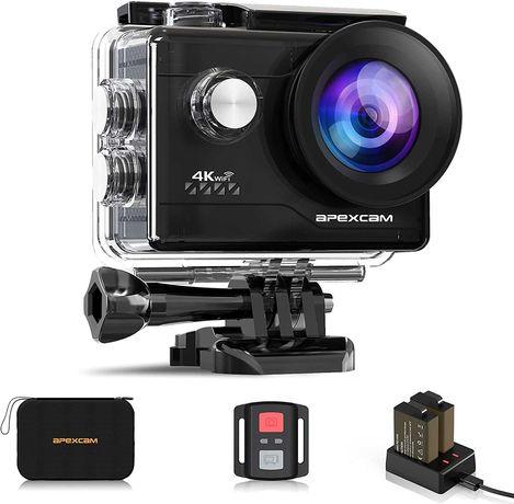 Kamera sportowa wodoodporny aparat Apexcam 4K 20MP WIFI