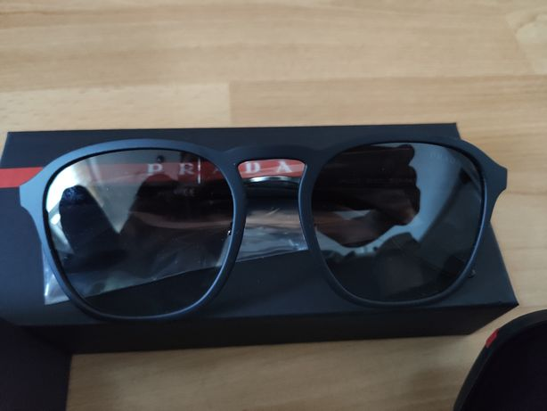 PRADA męskie okulary przeciwsłoneczne męskie PRADA Linea Rossa