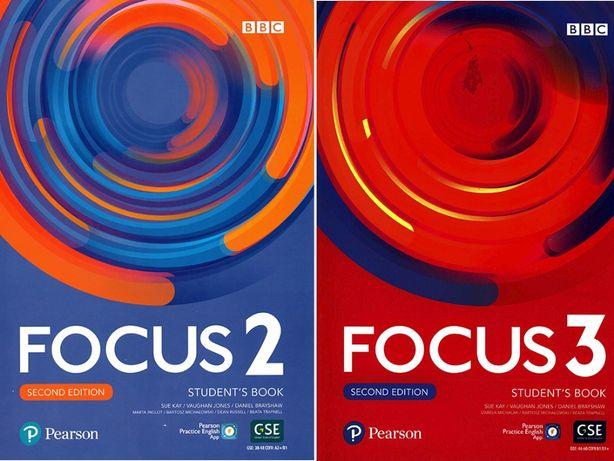 Focus 2nd edition, уровень 2, и 3. Второе издание. SB+WB