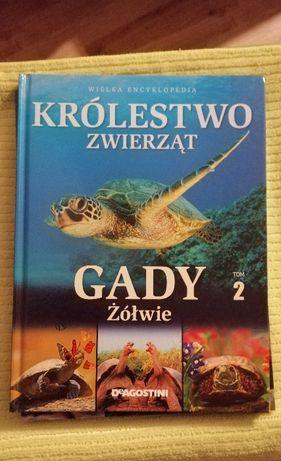 Książka Królestwo zwierząt tom 2 Gady żółwie