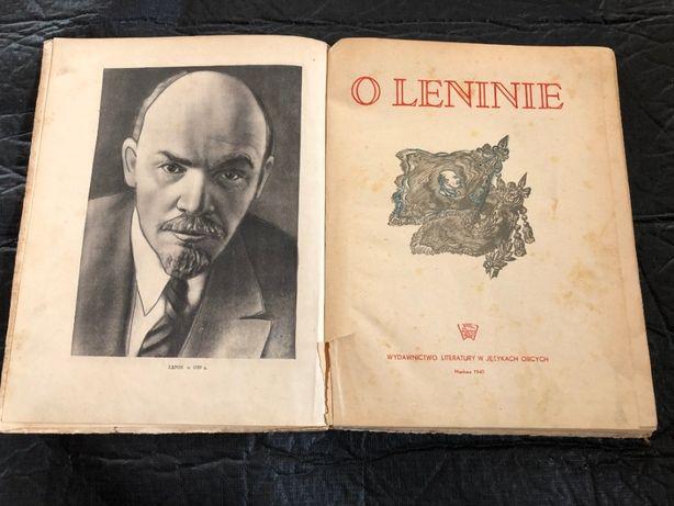 PRL Lenin książka 1945r.