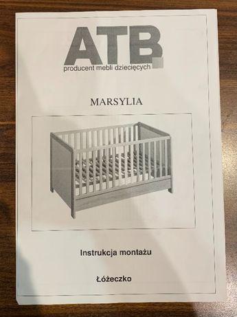Regulowane łóżko dziecięce 140×70 – ATB Marsylia
