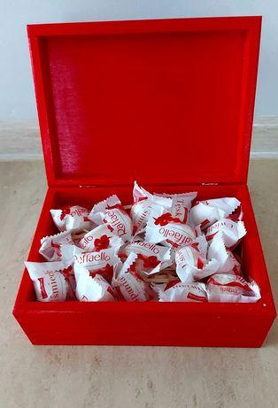 Pudełko prezent metodą decoupage