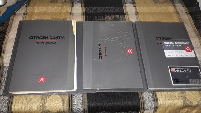 Książka citroen xantia