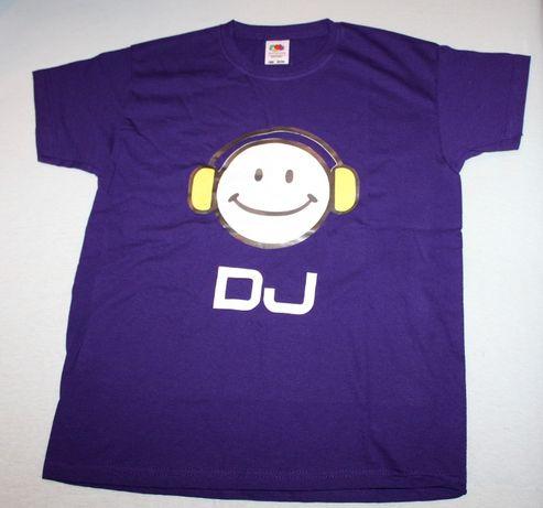 Fioletowy t-shirt dziecięcy
